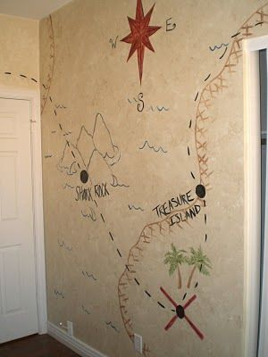 Creative Urges-Creative Blogspot: Boys Pirate Themed Room...