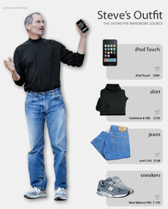 Steve Jobs Explains Why He Always Wore a Black Turtleneck