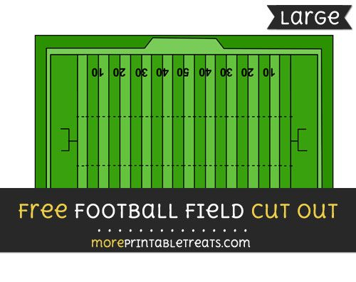 image relating to Printable Football Field known as No cost Soccer Market Slice Out - Superior sizing printable