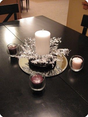 Deconstructed Advent Wreath.  (Prepare ye the way!!  Advent will be here before we know it.)