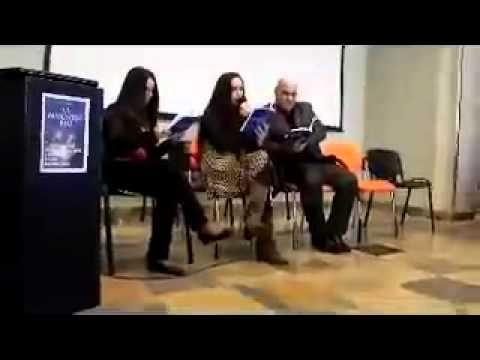 Presentazione La maschera blu Salone del libro di Messina.flv