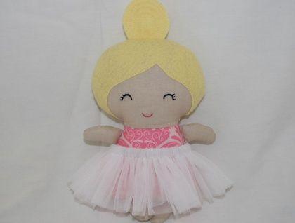 Tiny tot mini ballerina doll ready for adoption!