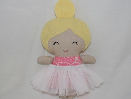 Tiny tot mini ballerina doll ready for adoption!