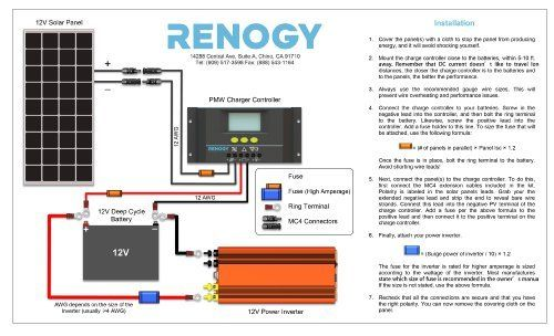 Renogy 100 Watts 12 Volts Monocrystalline Solar Panel ... on