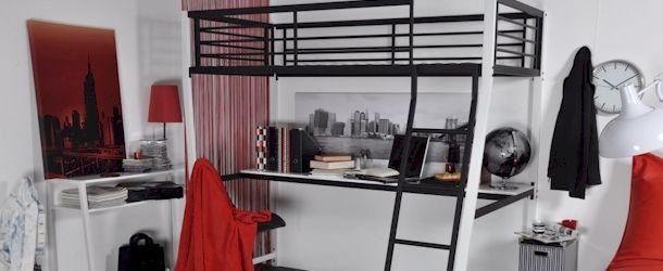 Mais de 1000 ideias sobre lit mezzanine 90x190 no pinterest lit sur lev p - Mezzanine deux personnes ...