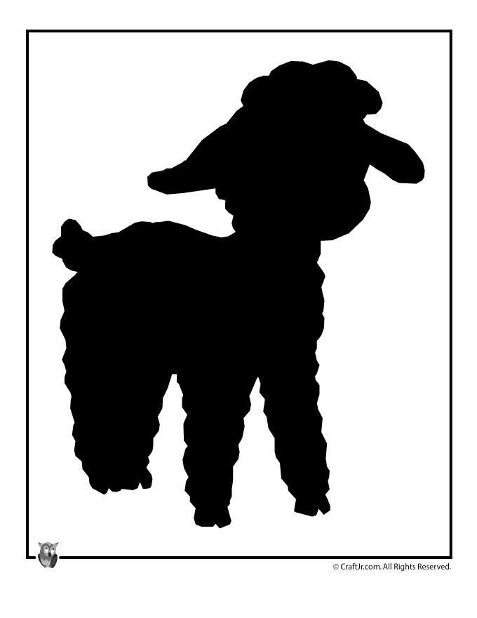 Easter Templates to Print Easter Lamb Template – Craft Jr.