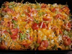 taco casserole with doritos | taco casserole 1 7oz bag nacho cheese doritos crushed 1 lb hamburger ...