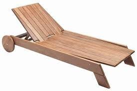 Resultado de imagem para espreguiçadeira madeira