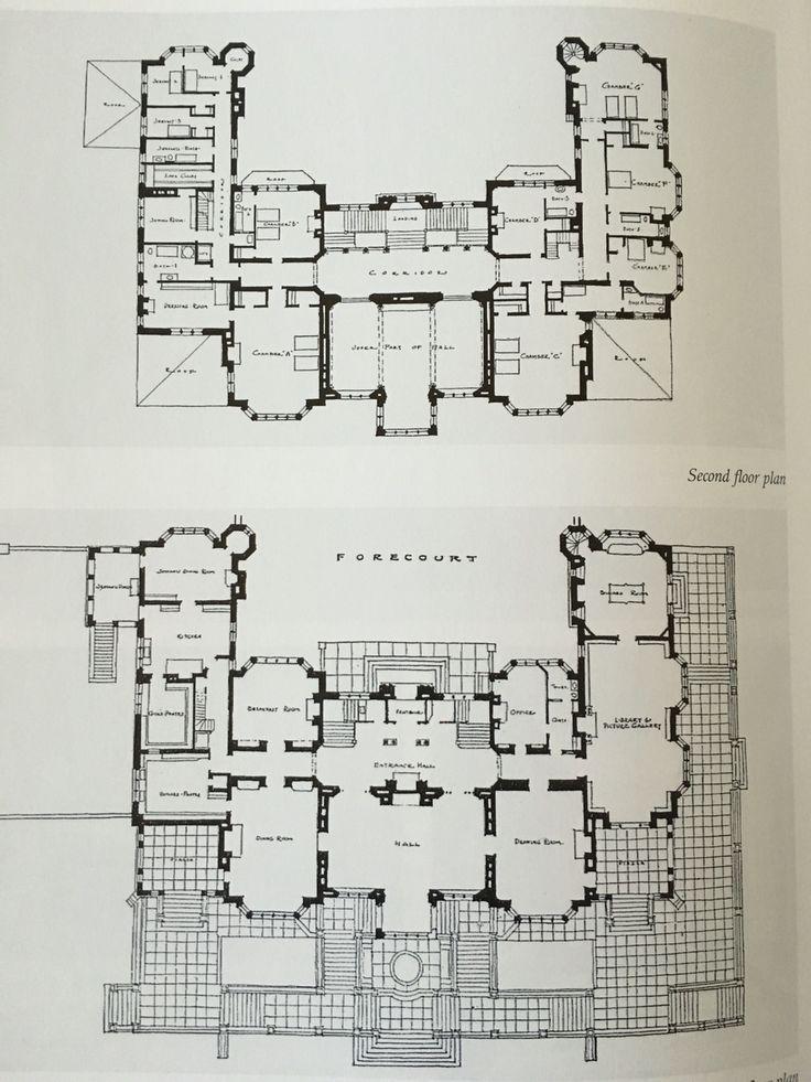 Homepage Vpins Architectural Floor Plans Mansion Floor Plan Vintage House Plans