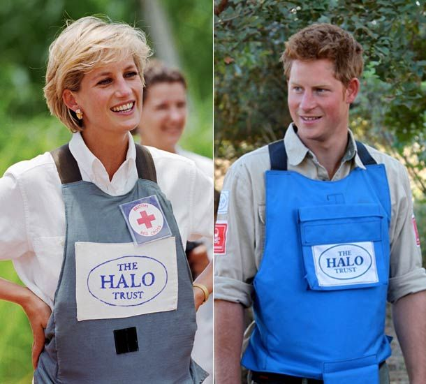 Prince Harry is following in the footsteps of his mother Diana, Princess of Wales as he fights for progress for the clearance of landmines in Africa.