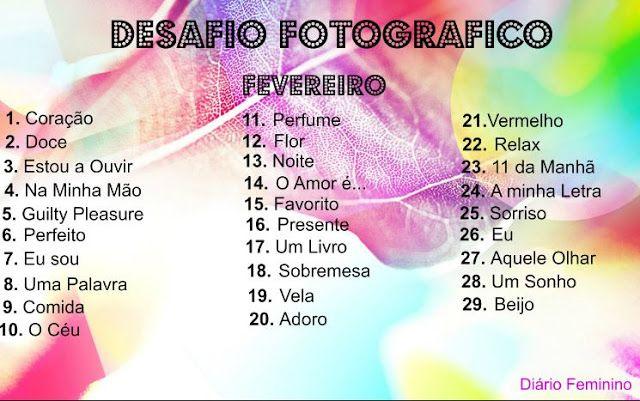 Diário feminino: Desafio Fotográfico dia 14 - O Amor é ...