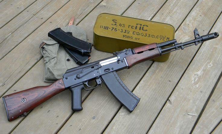 Choices: AK-47, AK-74... or AK-12?