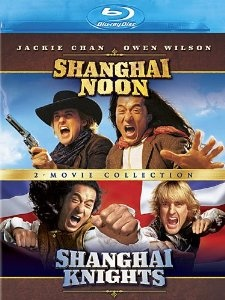 shanghai noon and Shanghai knights Jackie Chan double bill Blu ray , details here...http://jackiechandvds.co.uk/