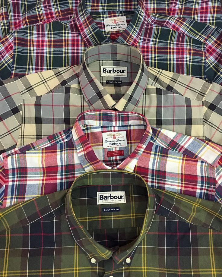 @barbour new season shirting - in store and online now. Classic tartans checks linens and oxfords 59 - 75.  #barbour #shirts #checks #tartan #oxfords #linen #classic #mensfashion #mensstyle #menswear #ss17 #philipbrownemenswear