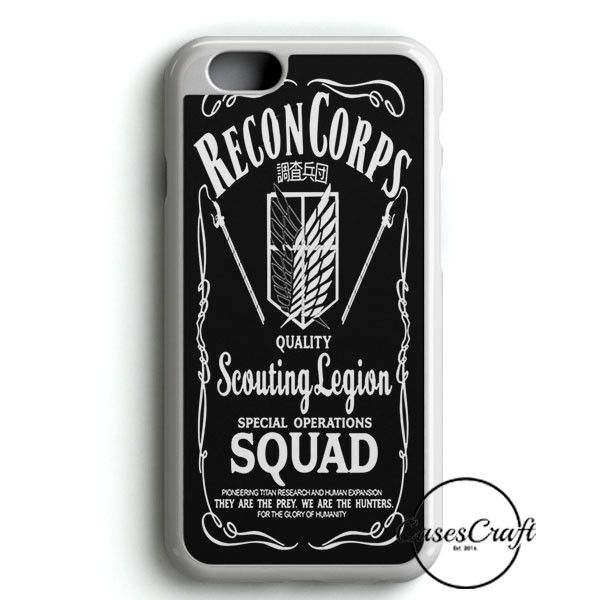 Recon Corps Attack Of Titan iPhone 6/6S Case | casescraft