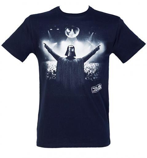 Star Wars DJ Darth Vader custom t-shirt design