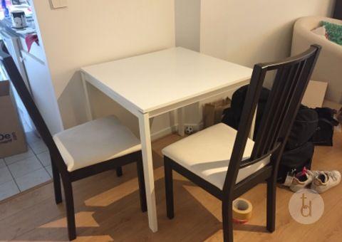 donne table blanche chaises donne gratuit toutdonner meubles paris