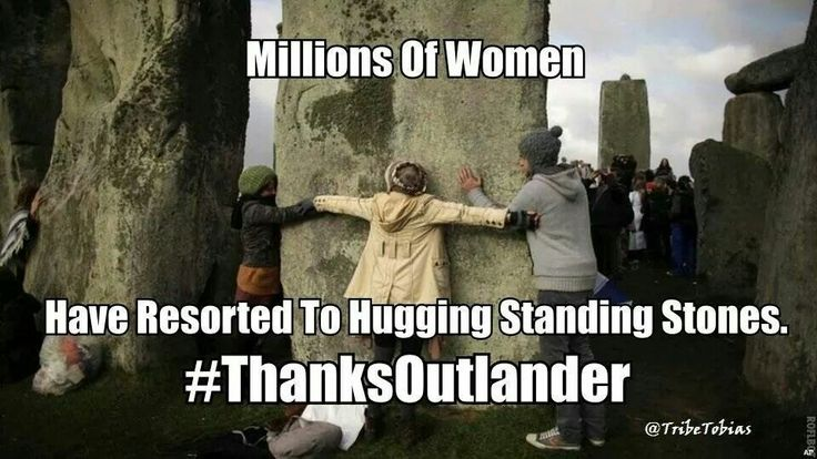 """The Outlander Effect"" lol"