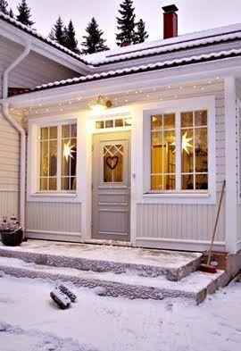 Kaunis veranta.