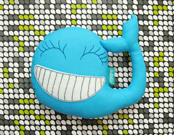 Hey, I found this really awesome Etsy listing at https://www.etsy.com/listing/255234911/blue-plush-happy-whale-soft-and-cute