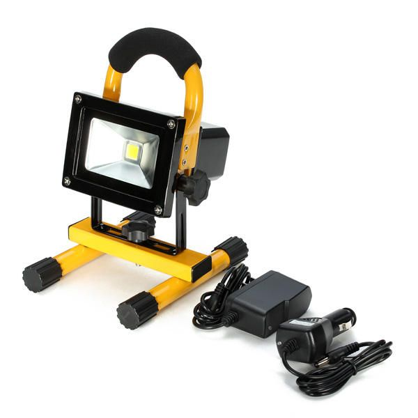 Us 35 30 10w Portable Rechargeable Led Flood Light Work Waterproof Ip65 Outdoor Car Emergency Lamp Outdoor Lighting From Lights Lighting On Banggood Com