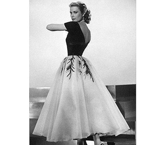1950s Grace Kelly Dress... from Rear Window... by pinkpurr on Etsy