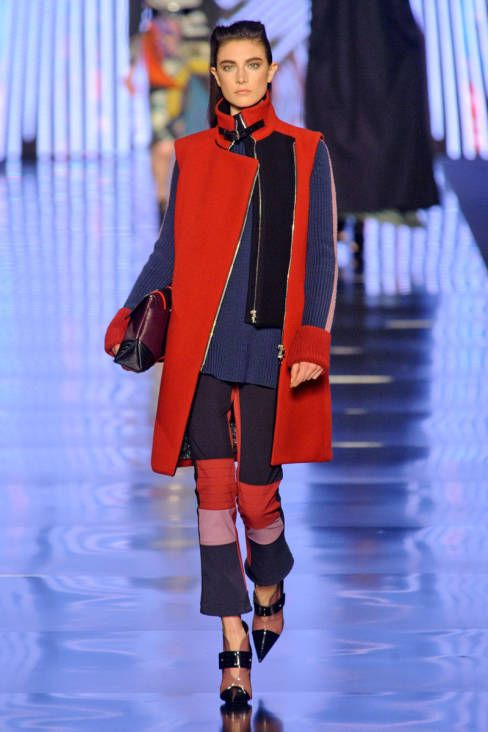 Etro Fall 2013 Ready-to-Wear Runway - Etro Ready-to-Wear Collection - ELLE