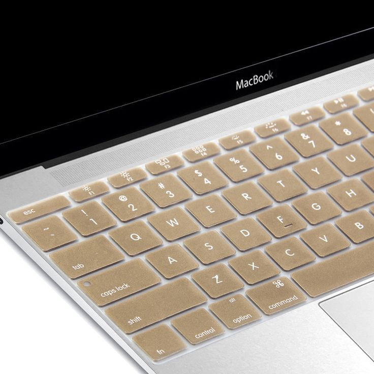 Silicon Keyboard Cover (US Layout) for the new macbook 12 inch with Retina Display