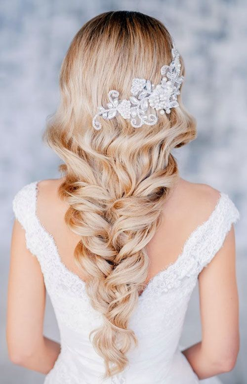 Love this gorgeous braid for a wedding hairstyle.