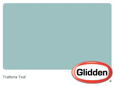 Trattoria Teal Paint Color