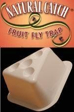 Natural Catch Fruit Fly Control Trap 2 Traps by Natural Catch. $10.98. For use in:  Restaurants, bars, supermarkets, counter tops, in display cases of fruit or baked goods, salad bars, or wherever fruit flies are a problem.. Active Ingredient:  This product does not use any pesticides or poisons ~~Target pests:  Fruit Flies  ~ Please make sure you have Fruit Flies most common mistake is mistaking Drain Flies for Fruit Flies..  Natural Catch Will NOT Work on Drain Flies....