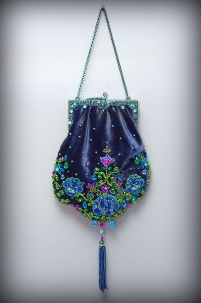 Beautiful beaded bag - Enchanted Doll by Marina Bychkova