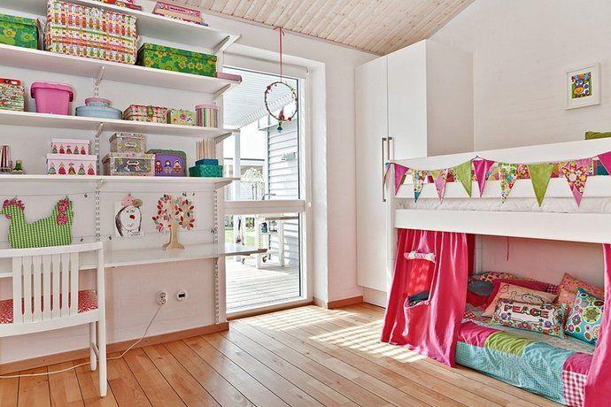 Bilder, Barnrum, barnsäng, Färgglatt, Hyllor - Hemnet Inspiration