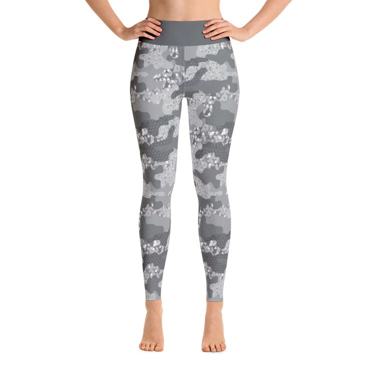 Camouflage Silver Leggings