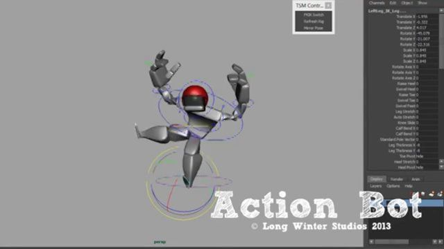 Character Design Vimeo : Actionbot promo on vimeo rigging pinterest