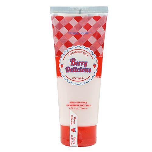 エチュードハウス [韓国コスメ ETUDE HOUSE] Berry Delicious ストロベリー ボディー ミルク