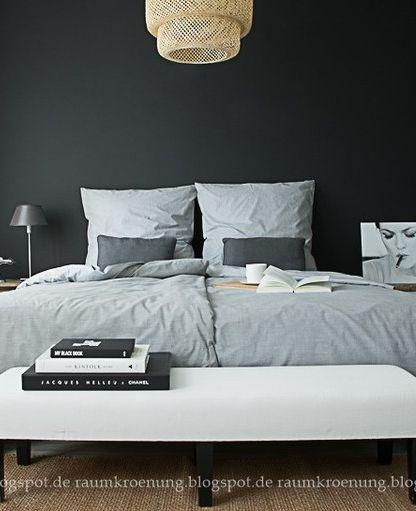Die besten 25+ Dunkle schlafzimmer Ideen auf Pinterest schwarze - gebrauchte schlafzimmer in köln