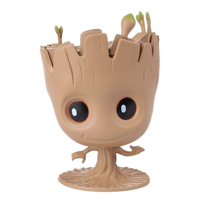 Baby Groot Man Flowerpot Planter Pot Figure Flower Pot Toy Tree Gift Home Decor