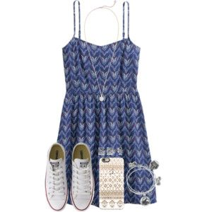 Dresses With Converses 😋