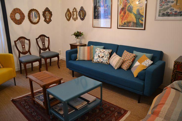 Canapé azul (Foto MTRD)