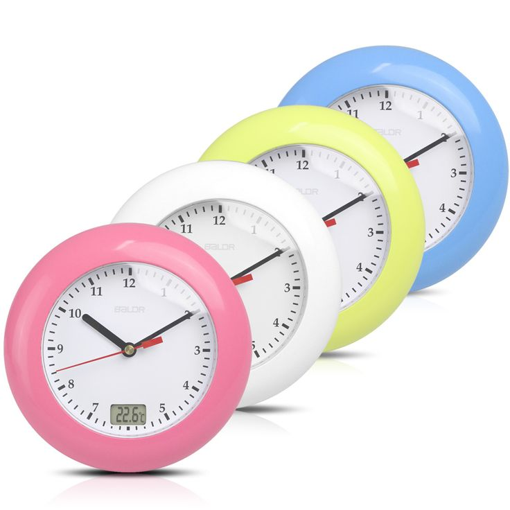 Baldr Thermometer Bathroom Wall Clocks Temperature Display Suction Cups Hanging Table Desk Analog Waterproof Shower Watch Clock-in Wall Clocks from Home & Garden on Aliexpress.com   Alibaba Group