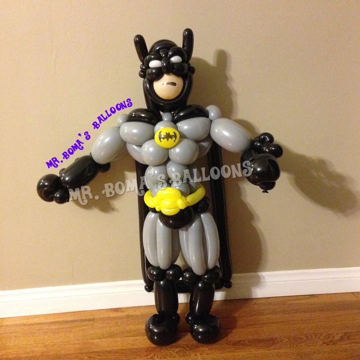 Batman Balloon - Mr. Boma's Balloons 2014
