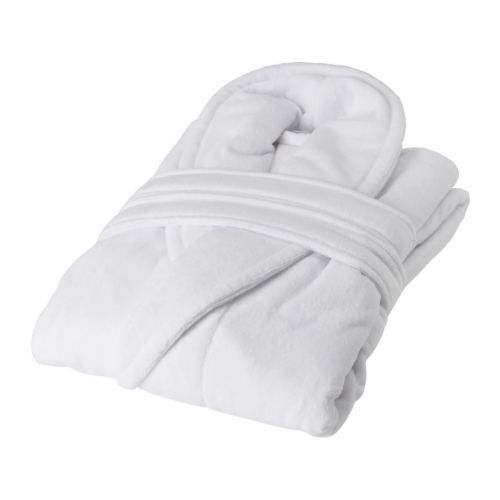 Cheap bathrobe to keep in the guest room!