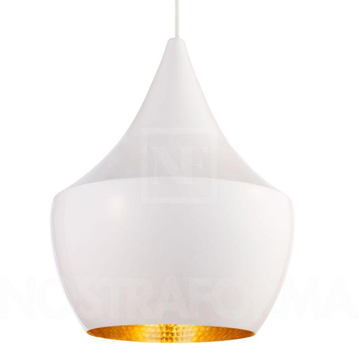Tom Dixon Beat Light Fat - White Pendelleuchte » NOSTRAFORMA Design-Shop für Leuchten & Lampen