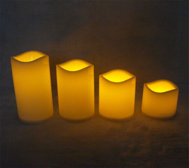 Home Flickering Flicker Light Flameless LED Tealight Tea Remote Control Candles #Affiliate