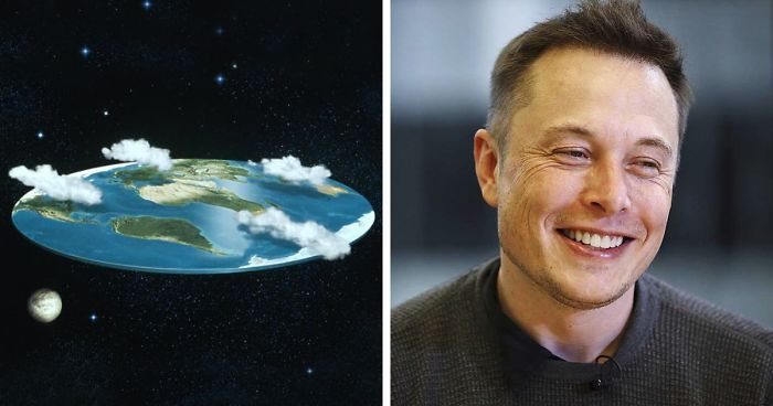 Elon Musk Destroys The 'Flat Earth Society' With A Single Question, And Their Reply Is The Pinnacle Of Irony | Bored Panda