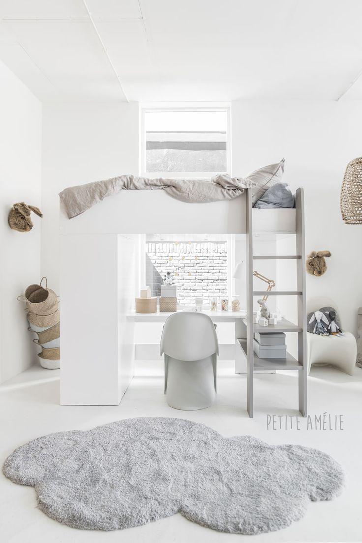 25 beste idee n over ingebouwde kast op pinterest badkamermeubel kasten op maat en kast - Hoogslaper met geintegreerde garderobe ...