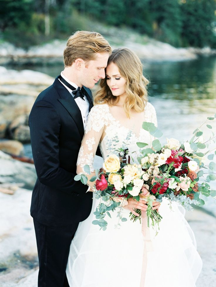 Classic and elegant wedding inspiration by the sea via Magnolia Rouge