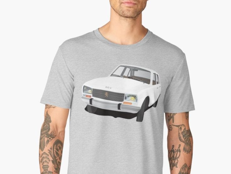 Classic Peugeot 504 t-shirts from Redbubble.   #peugeot #peugeot504 #classicpeugeot #frenchcars #classiccars #automobile #car #carillustration #tshirts