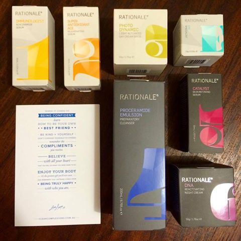 Always love a catch up with another female led Sydney Hills business - especially on a #Friday! Thank you Suzie Hoitink for the generous #skincare Clear Complexions Clinics gift!  #fridayfeeling #confidence